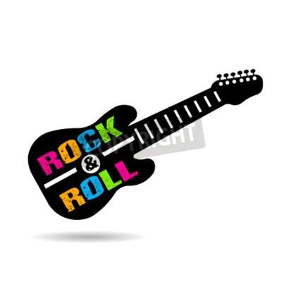 Фотообои Рок-н-ролл на гитаре