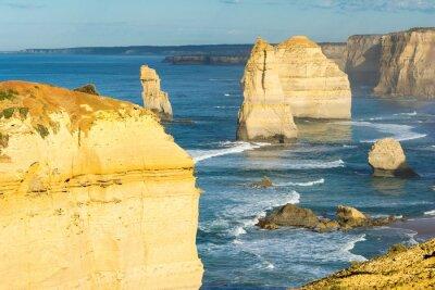 Фотообои Скалы Двенадцати Апостолов вдоль побережья Австралии