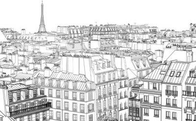 Фотообои крыши в Париже