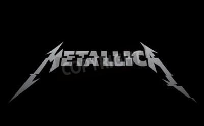 Фотообои РОССИЯ - ФЕВРАЛЬ 09, 2017: новый логотип Metallica