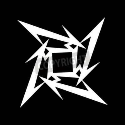 Фотообои РОССИЯ - ФЕВРАЛЬ 09, 2017: символ Metallica
