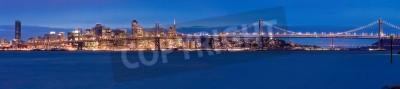 Фотообои Обзор Сан-Франциско ночью