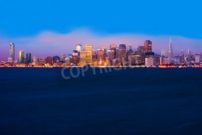 Фотообои Сан-Франциско горизонт ночью