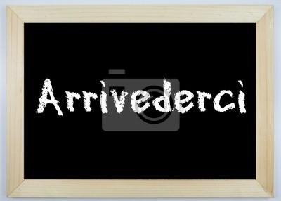 Translation of arrivederci by umberto bindi from italian to