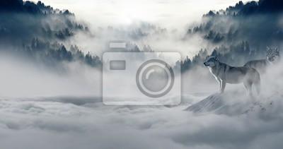 Фотообои зима снег