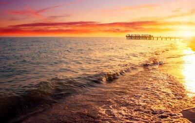 Фотообои море и закат