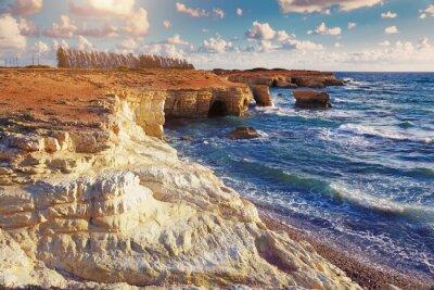 Фотообои Морские пещеры. Кипр