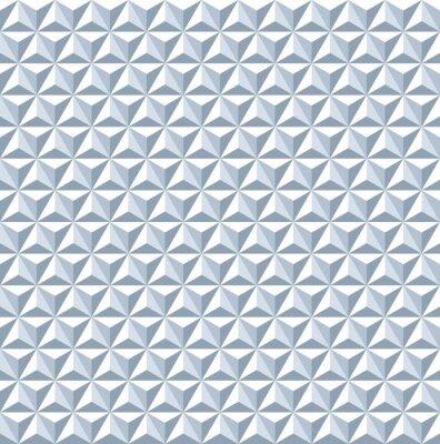 Фотообои Бесшовные 3d шаблон. Геометрическая текстура.