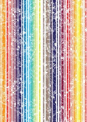 Фотообои Бесшовные яркий стиль гранж потертый полный цвет полоса рисунок. V