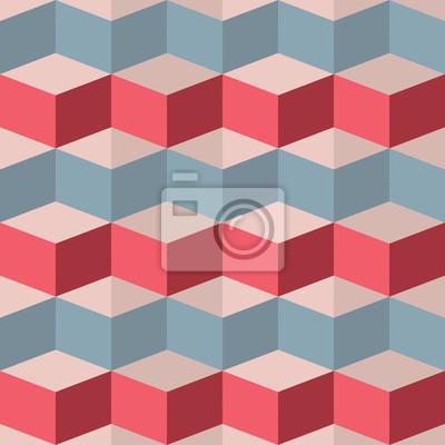 Фотообои Бесшовные геометрический рисунок малины