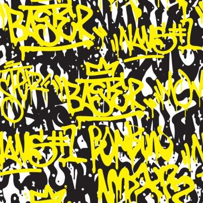 Фотообои Бесшовные граффити