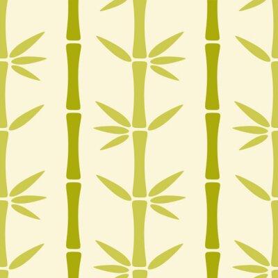 Фотообои Бесшовные с бамбуковыми деревьями
