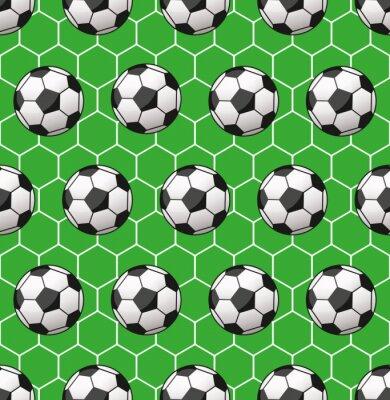 Фотообои бесшовный фон футбол