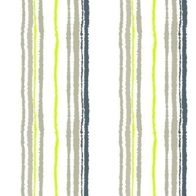 Фотообои Бесшовные полосы. Вертикальные линии с эффектом рваной бумаги. Shred край фона. Холодный мягкий серый, оливковый, белый цвета. Зимняя тема. Вектор
