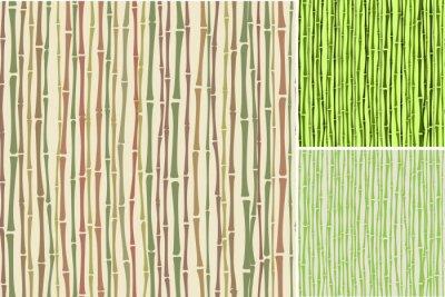 Фотообои бесшовных текстур с бамбуковыми стеблями