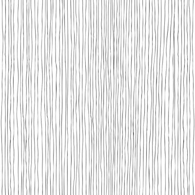 Фотообои Бесшовные вертикальные линии рисованной картины