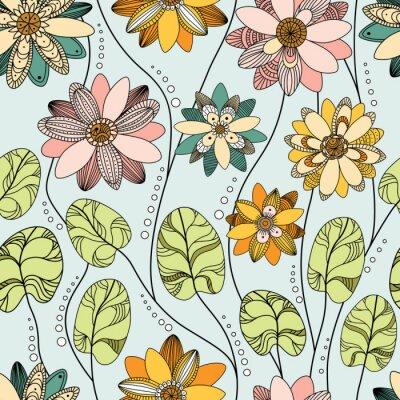 Фотообои Бесшовные с водяной лилии