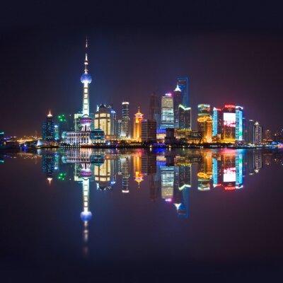 Фотообои Шанхай горизонт, carré