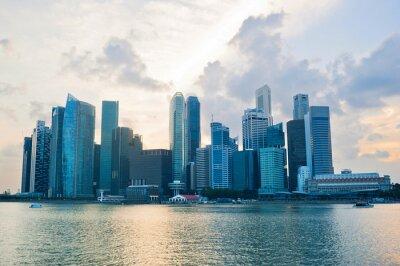 Фотообои Сингапур бизнес Cener
