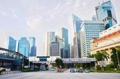 Фотообои Сингапур деловой район