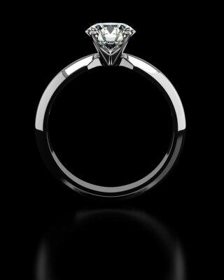 Фотообои Одноместный бриллиантовое кольцо