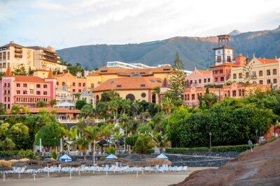 Фотообои Sityscape вид на курорт Лос-Кристианос