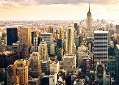 Фотообои Skyline фон Нью-Йорк
