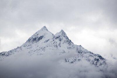 Фотообои Снегом горный пик в Кордильерах, Перу
