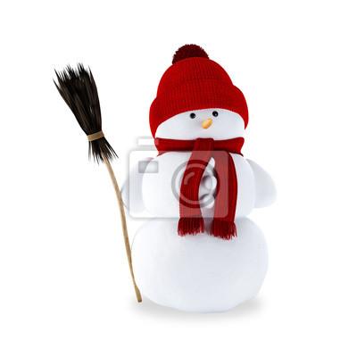Метла для снеговика своими руками на утренник