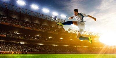 Фотообои Футболист в действии
