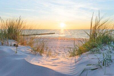 Фотообои Закат на Балтийском море