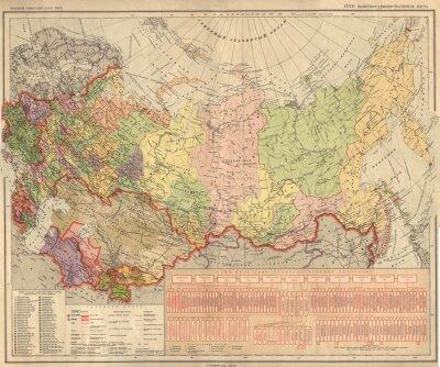 Фотообои Советский Союз, СССР, карта