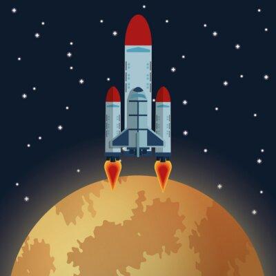 Фотообои Космический дизайн иконок