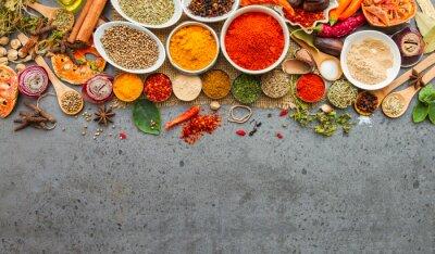 Фотообои Специи и herbs.Food и кухня ингредиентов.