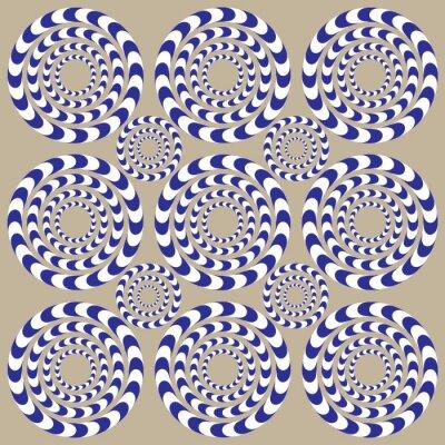 Фотообои Спин Круги (Illusion)
