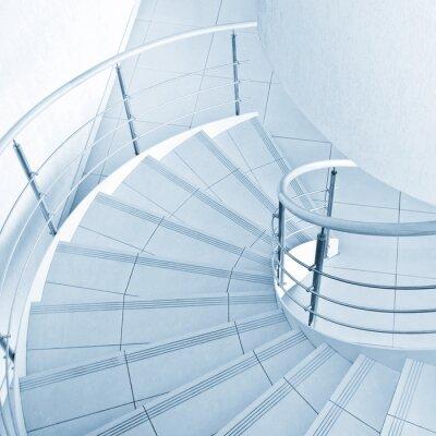 Фотообои Винтовая лестница