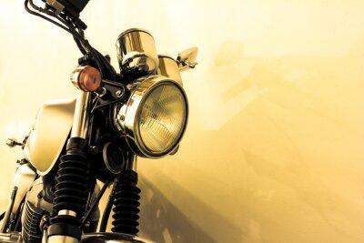 Фотообои Сплит тонирование старинных мотоциклов