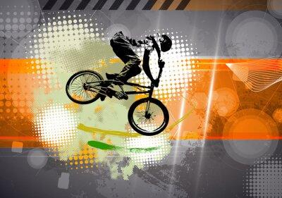 Фотообои Спорт, BMX иллюстрации