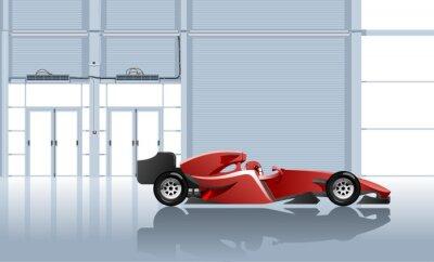 Фотообои спортивный автомобиль