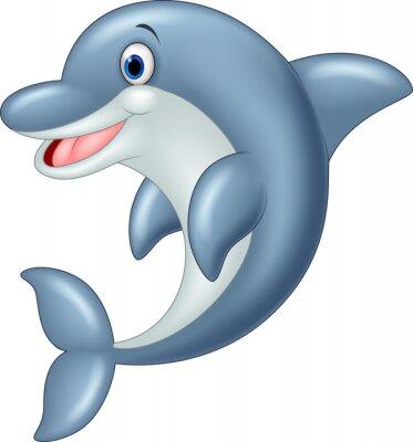 Фотообои Постоянный Дельфин векторные иллюстрации