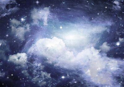 Фотообои Звезда полей в пространстве и туманностей