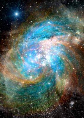Фотообои Звезды, пыли и газа туманности