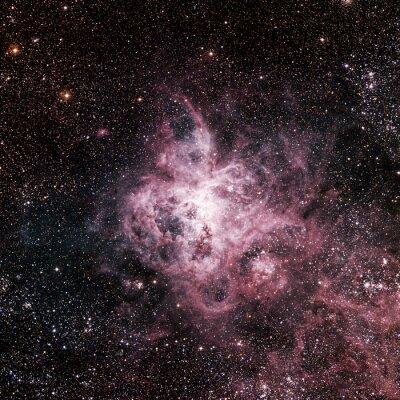 Фотообои Звезды туманность в космосе. Элементы этого изображения, предоставленную NASA