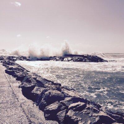 Фотообои шторм 2