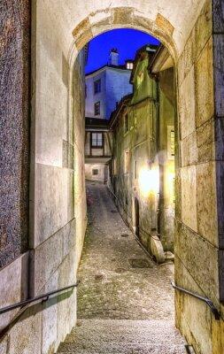 Фотообои Улица в старом городе, Женева, Швейцария
