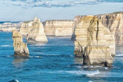 Фотообои Потрясающие с высоты птичьего полета из Двенадцати Апостолов, Виктория - Австралия