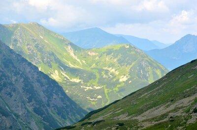 Фотообои Летний горный пейзаж.
