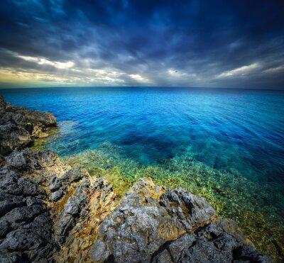 Фотообои закат и море