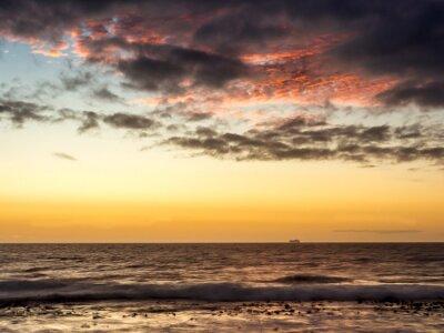 Фотообои Закат на корабле на берегу Атлантического океана в Кейптауне - 1