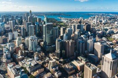 Фотообои деловой район Sydney Central из воздуха